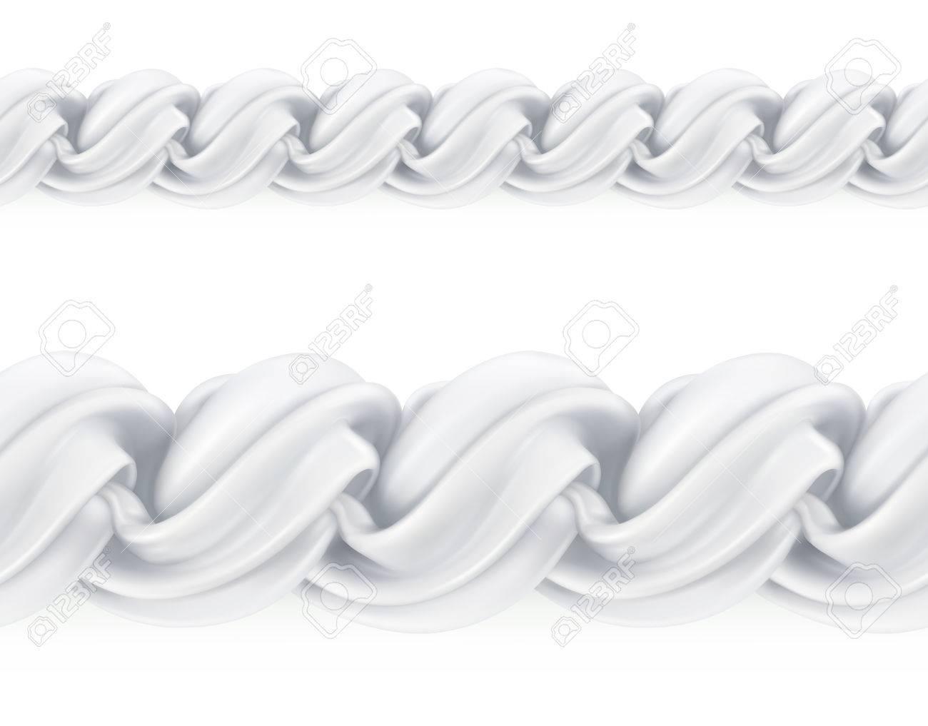 ホイップ クリームベクターのシームレスなパターン メッシュのイラスト
