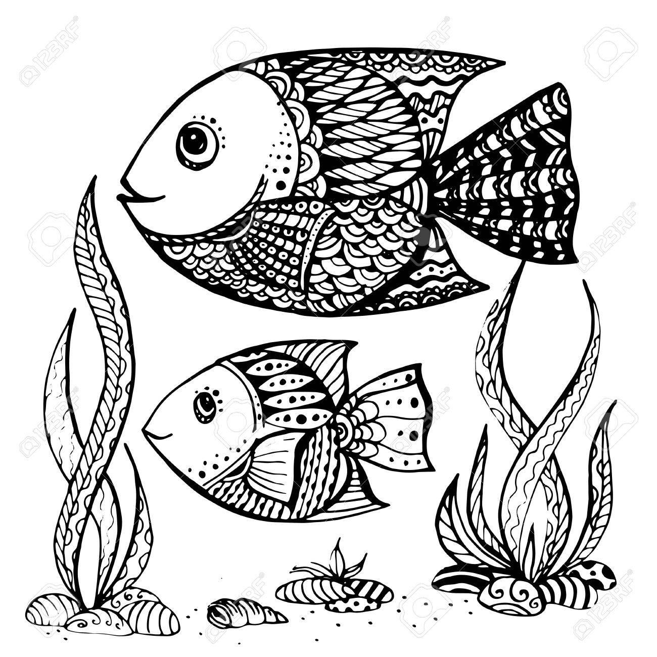 Großzügig Fisch Malvorlagen Realistisch Ideen - Malvorlagen-Ideen ...