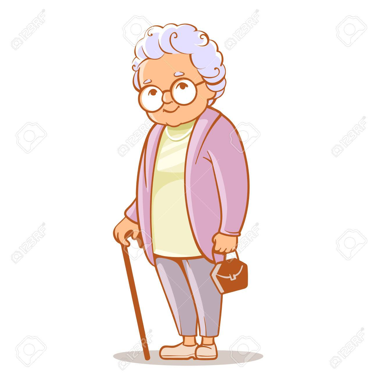 Portrait of grandmother - 72812368
