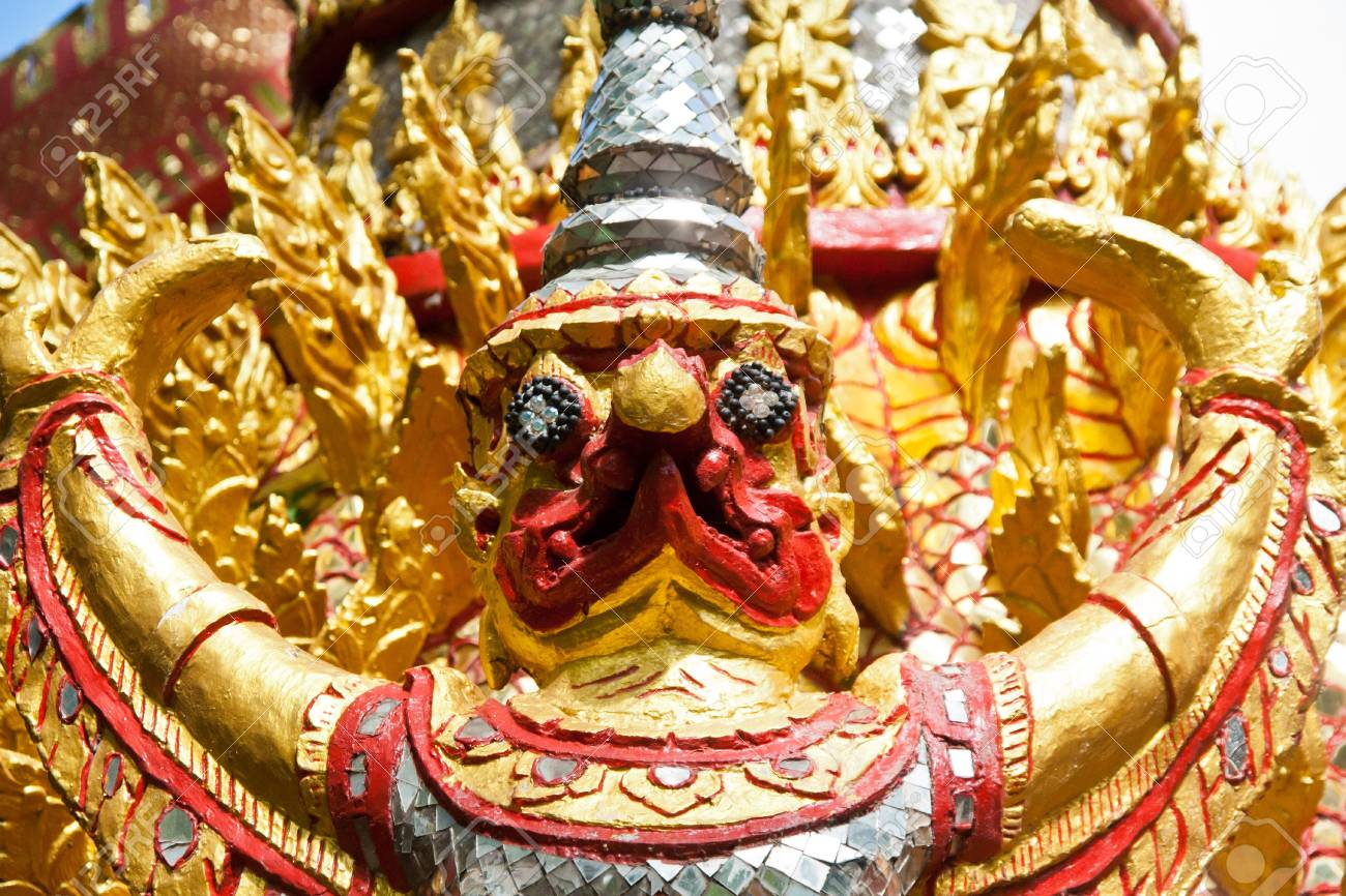 Statue of Garuda. Stock Photo - 11033837