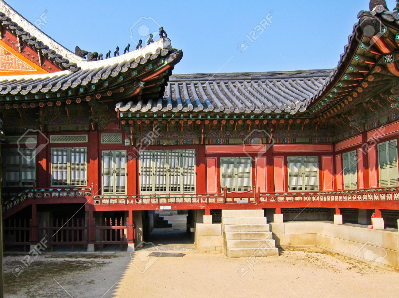 High Quality Stock Photo   Traditional Korean House , South Korea