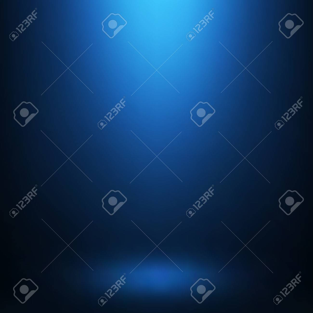 Abstract gradient blue, used as background for display your products - 54325905