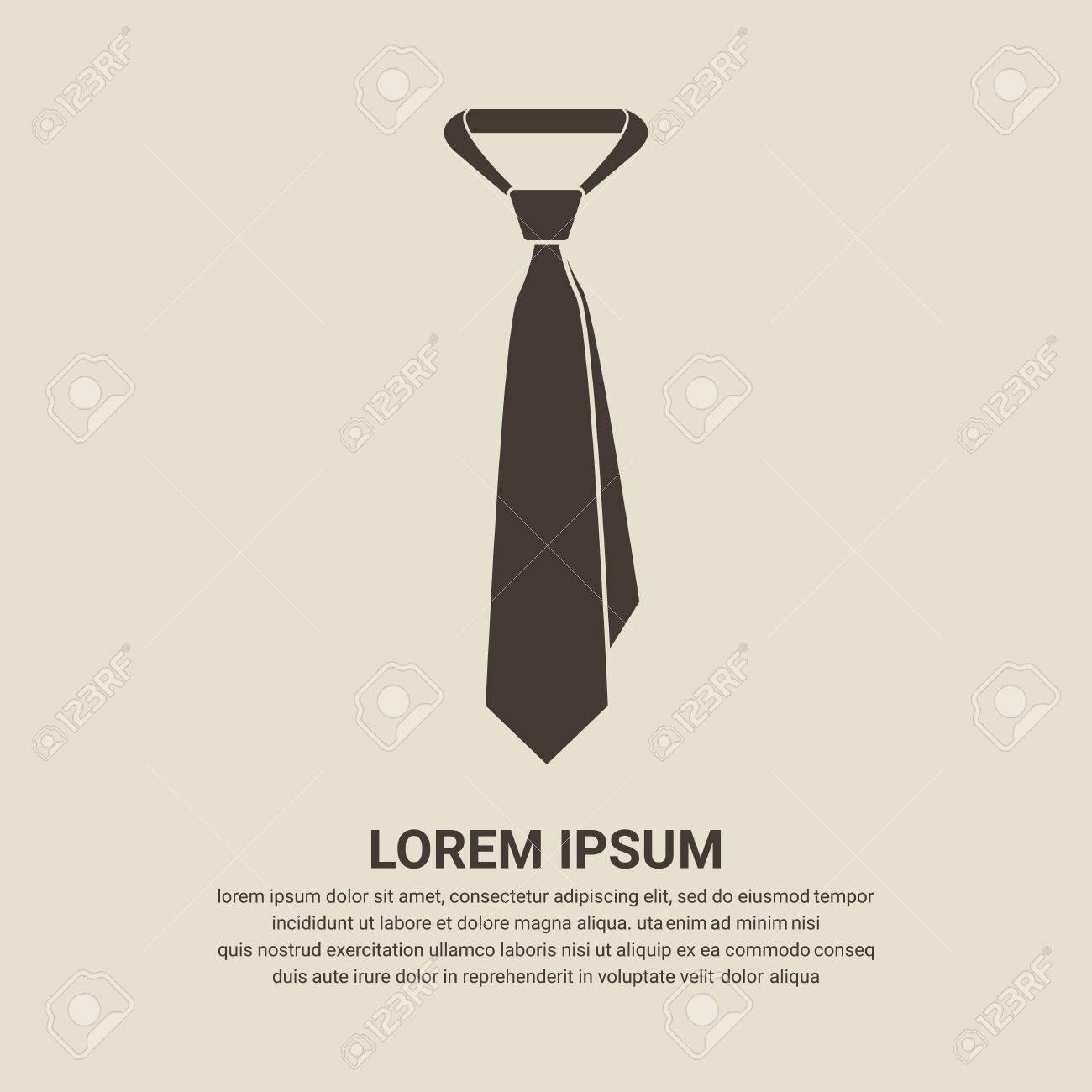 Tie icon - Vector - 55799809