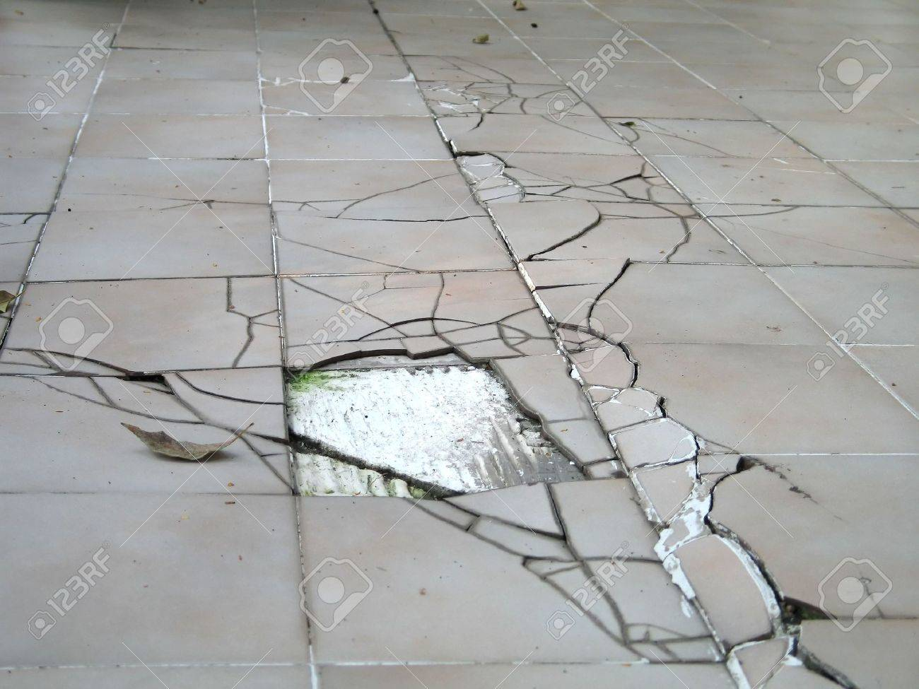 Earthquake Cracked Floor Stock Photo - 7935763