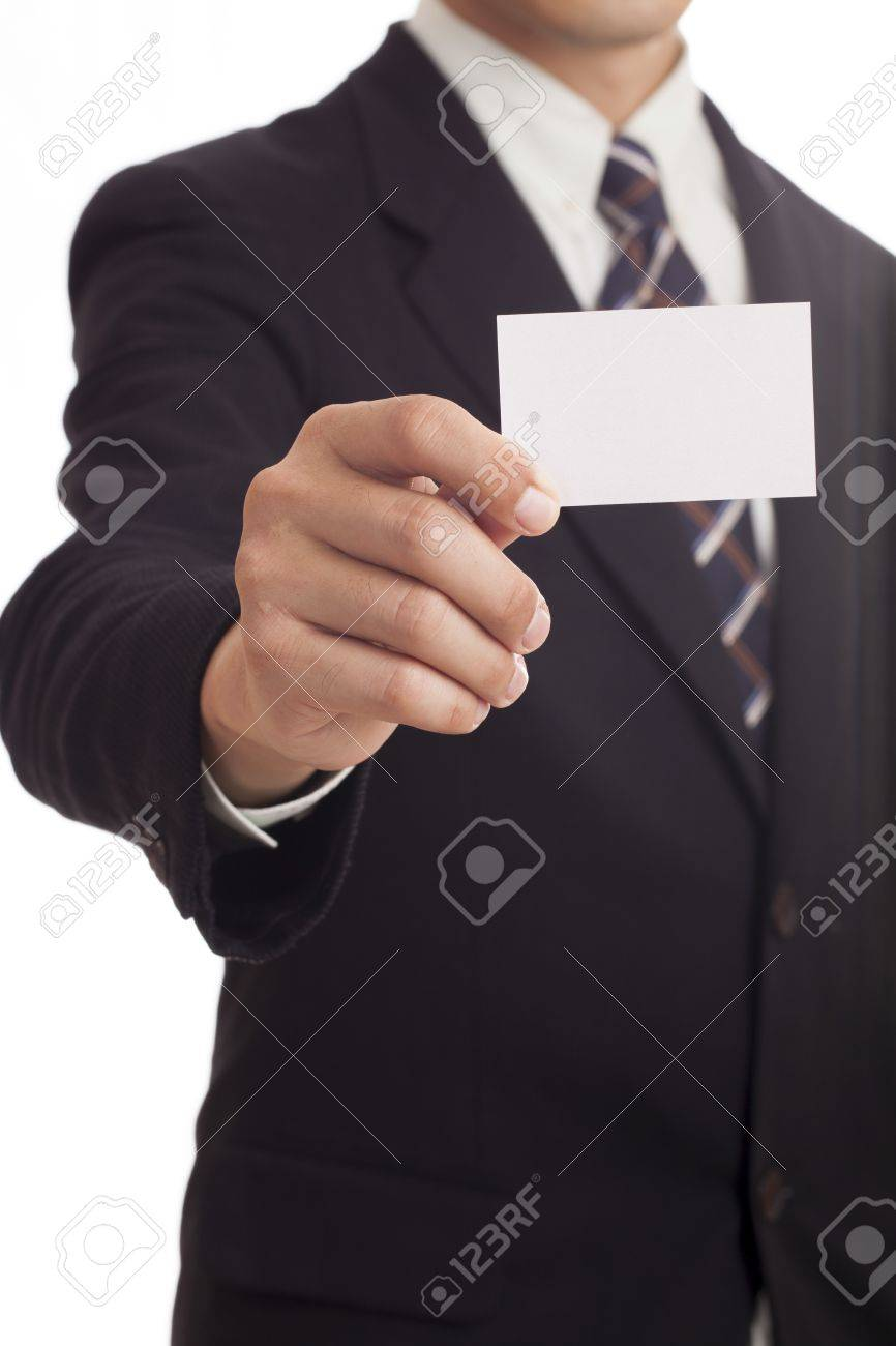 Hand holding credit card Stock Photo - 21866765