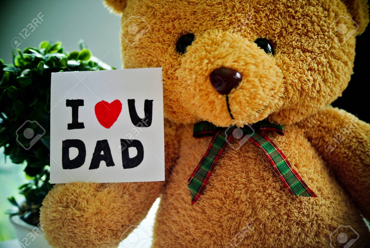 I Heart Dad Teddy Bear