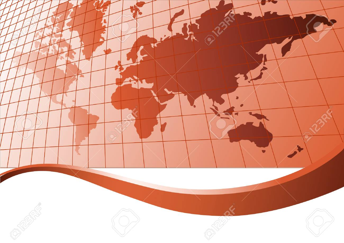 Map of world. Vector illustration Stock Vector - 3612960