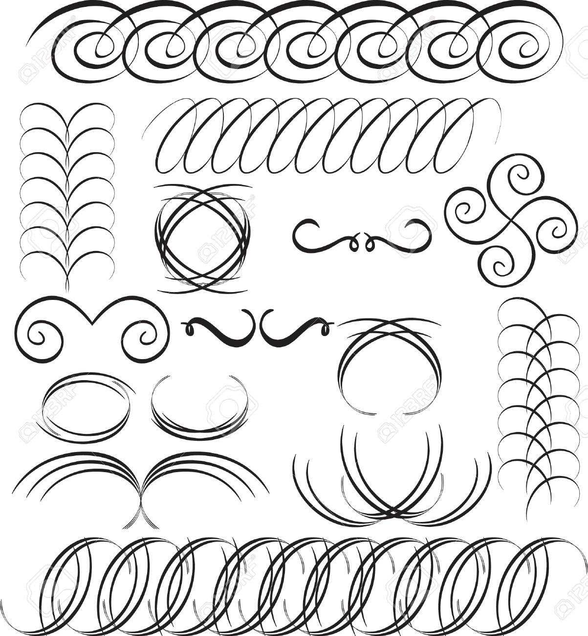 Vector design elements Stock Vector - 3650341