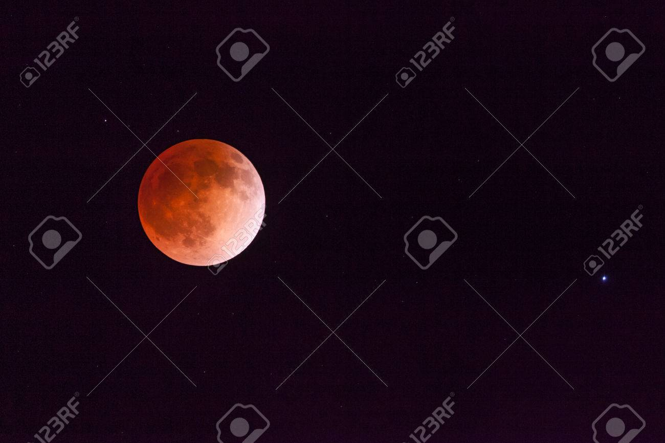 Blood Moon From Lunar Eclipse - 27606246