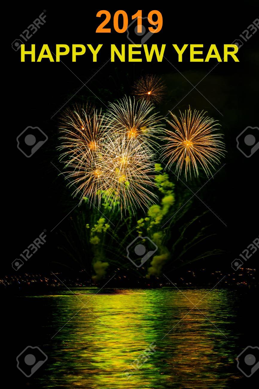 happy new year background 2019 stock photo 69980018