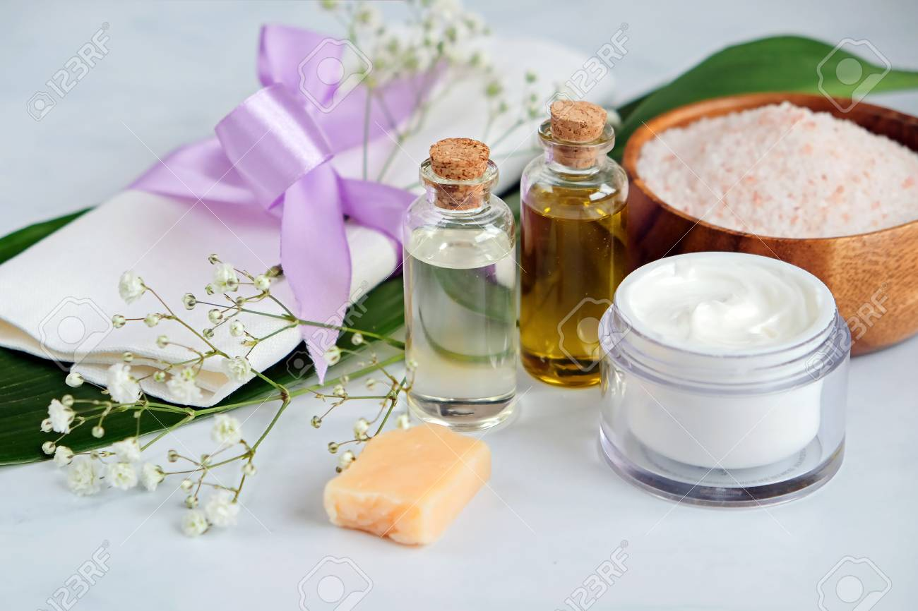 Spa Natural Skin Care Products Background Cosmetic Products Stock Photo Picture And Royalty Free Image Image 116162662