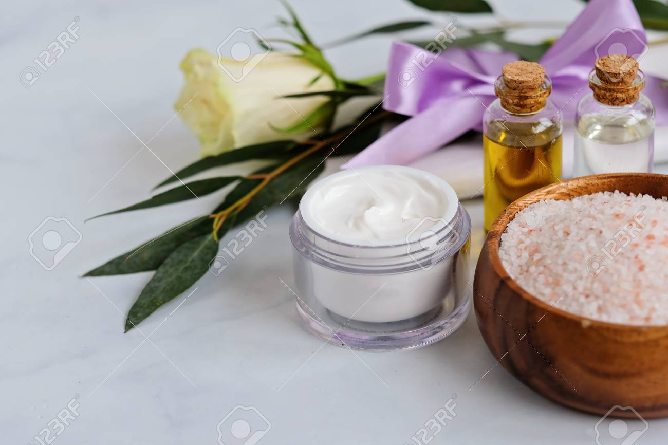 Spa Natural Skin Care Products Background Cosmetic Products Stock Photo Picture And Royalty Free Image Image 116162576