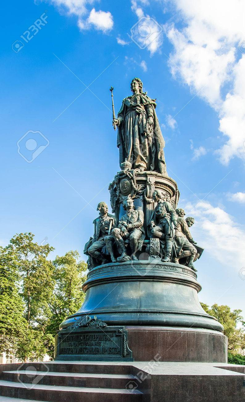 Monument to Catherine the Great in St. Petersburg: description, photo 92