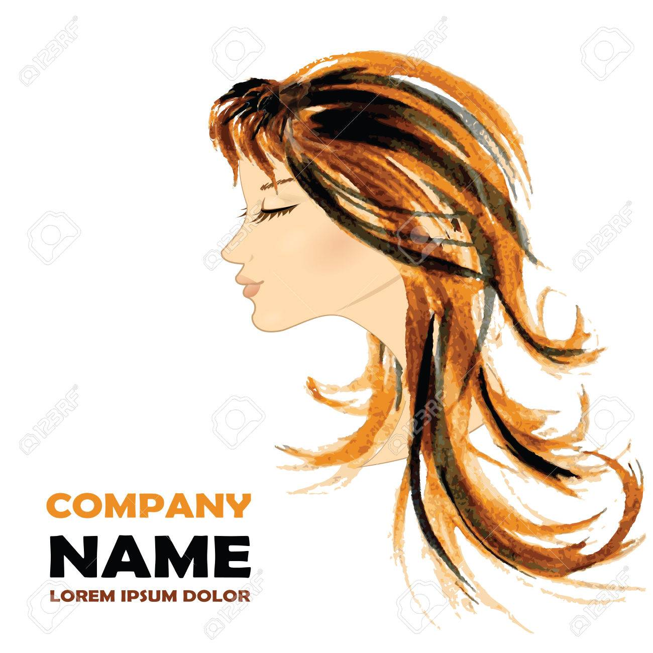 Fashion Woman With Long Hair Vector Illustration Stylish Design Royalty Free Cliparts Vectors And Stock Illustration Image 38810039
