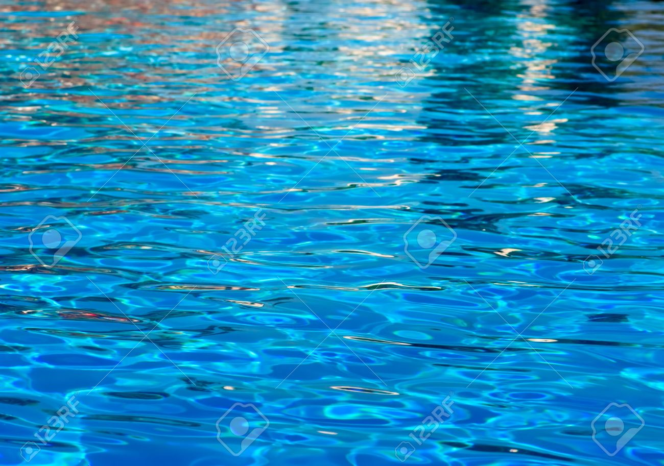 Swimming Pool Background water ripples at swimming pool background stock photo, picture and