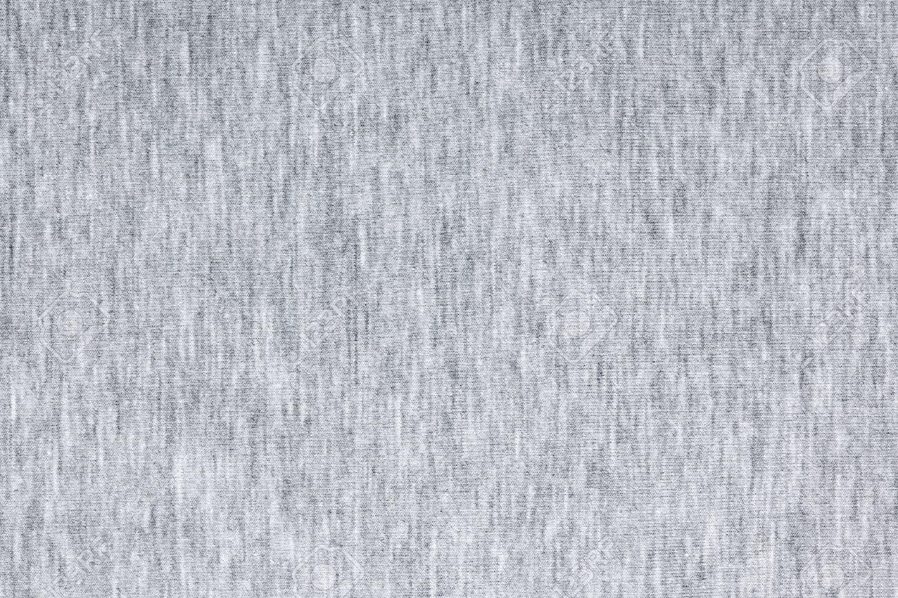 Real heather grey knitted fabric made of synthetic fibres textured background - 47600277