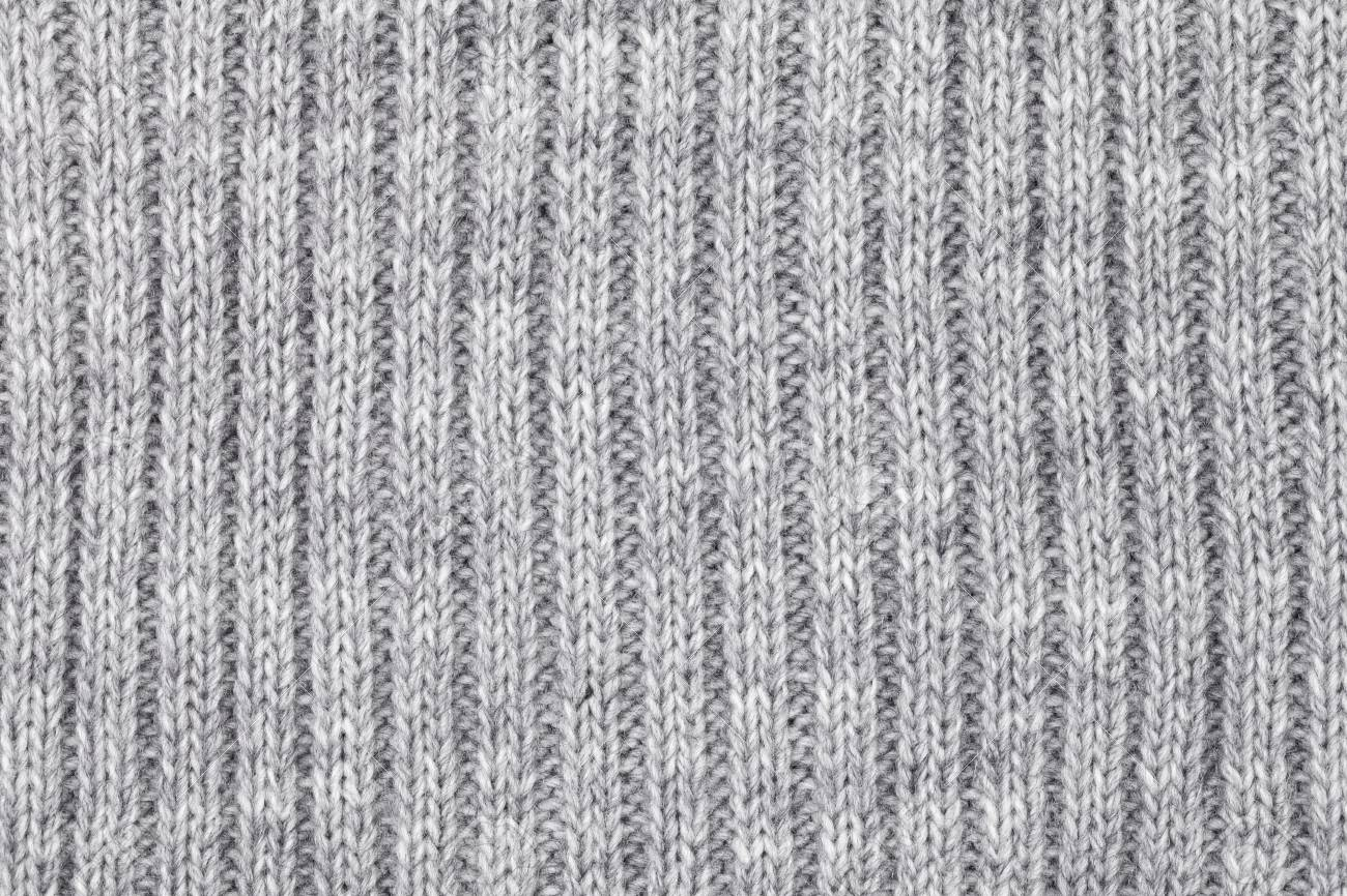 e2a9b4c2d58a27 Real grey knitted fabric made of heathered yarn textured background Stock  Photo - 86522552