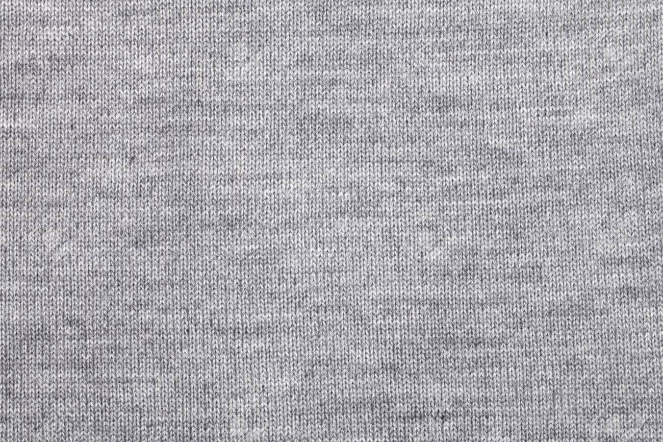 fbc7e36fb5891f Real grey knitted fabric made of heathered yarn textured background Stock  Photo - 86953488