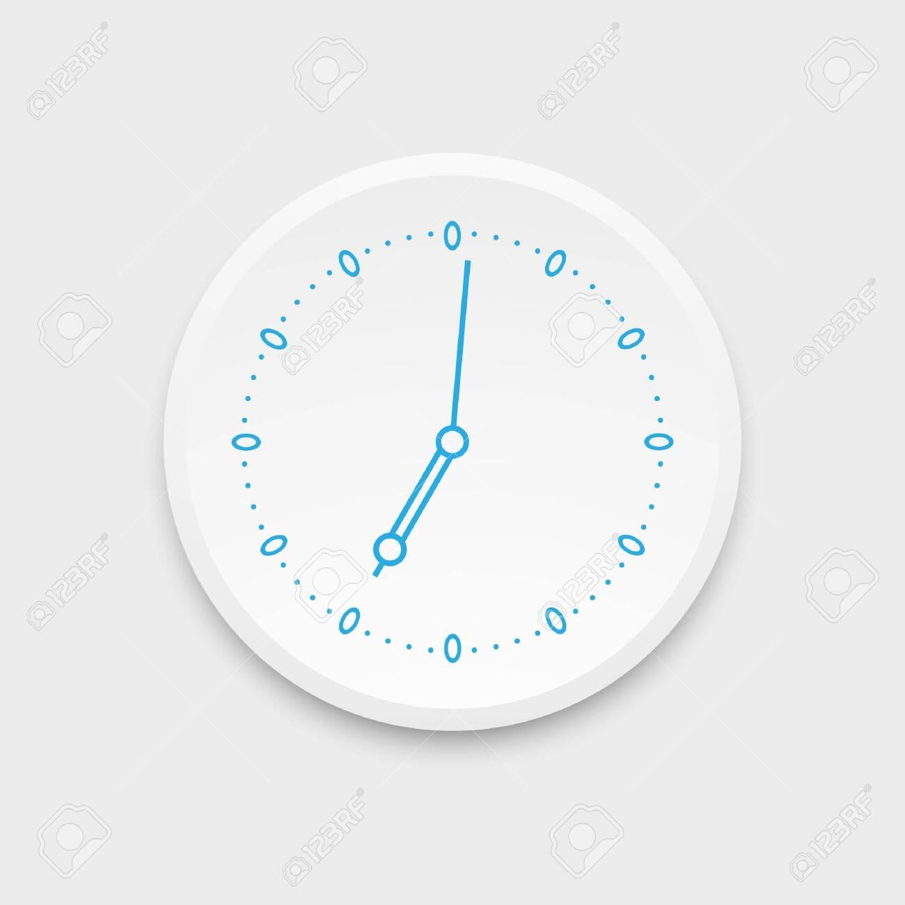 Clock icon. Vector illustration. - 151617536