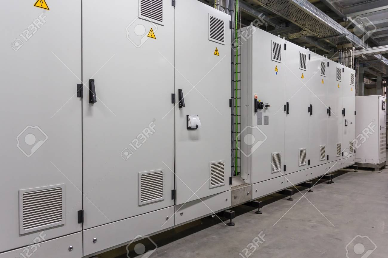 Electrical Switchgear, Industrial Electrical Switch Panel In.. Stock ...