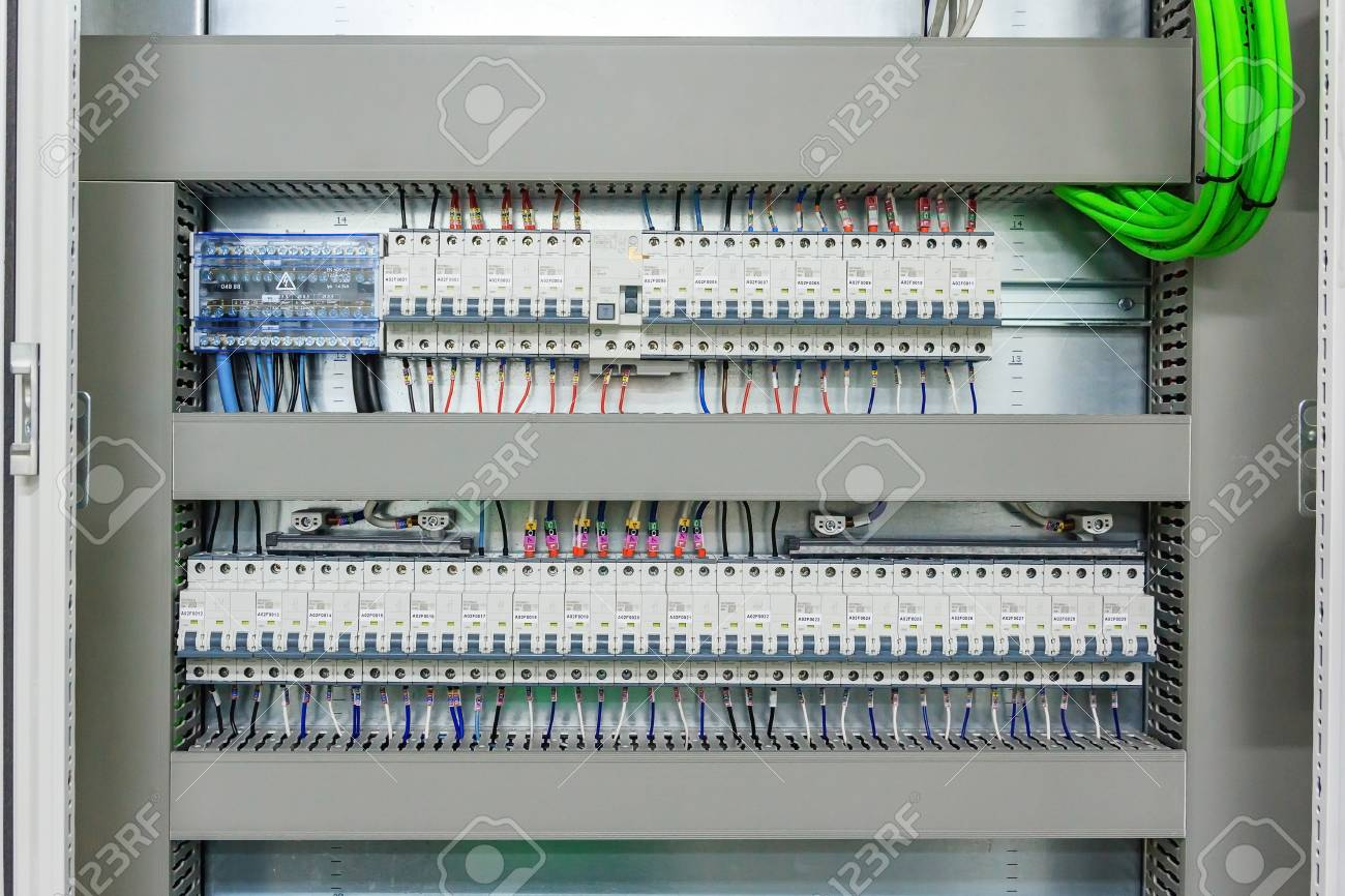 Pleasant Wiring Plc Control Panel With Wires In Cabinet For Machine Wiring 101 Cranwise Assnl