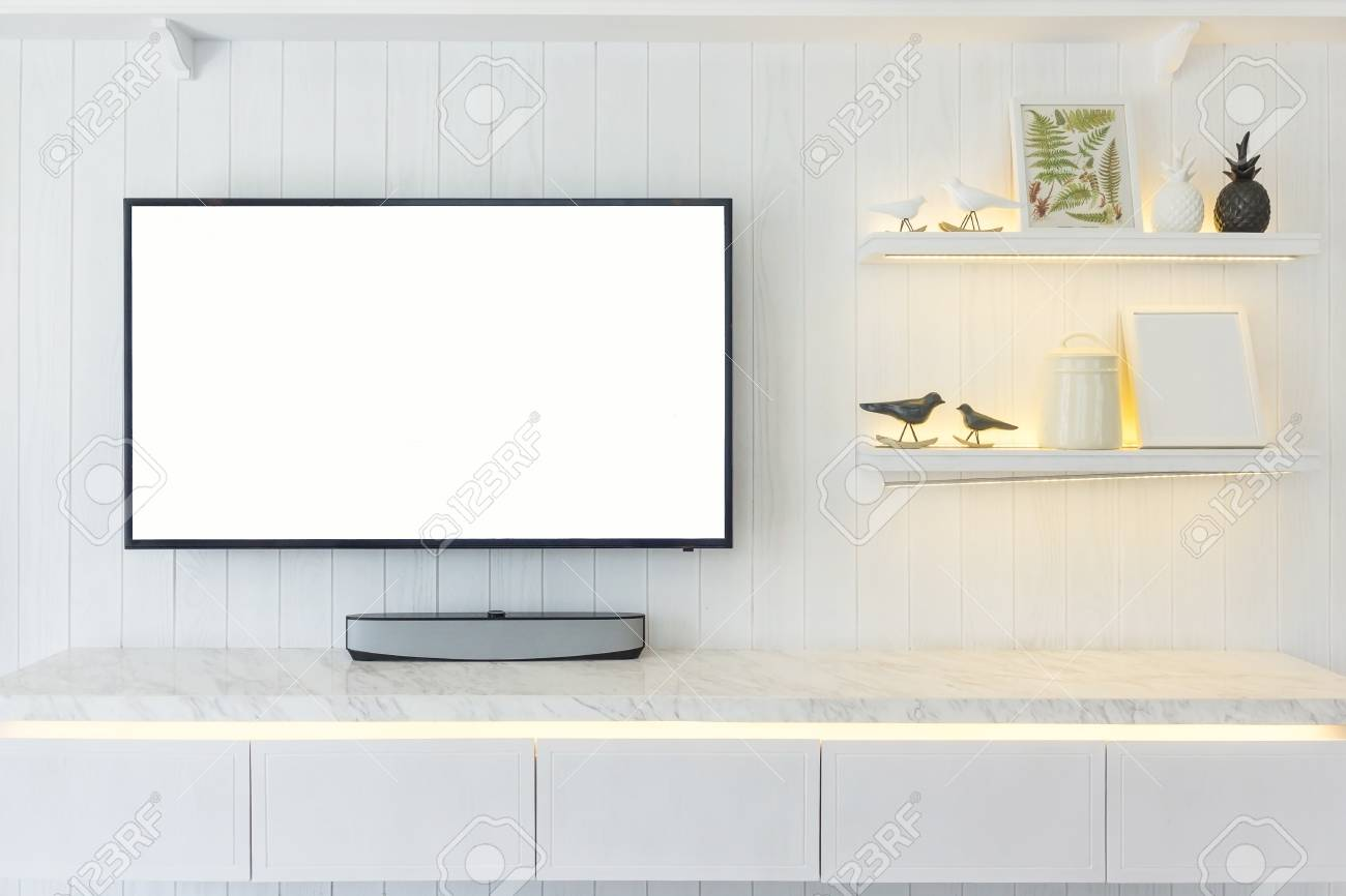 Tv Cabinet Interior Modern Room Design And Cozy Living Style Stock Photo Picture And Royalty Free Image Image 97276492
