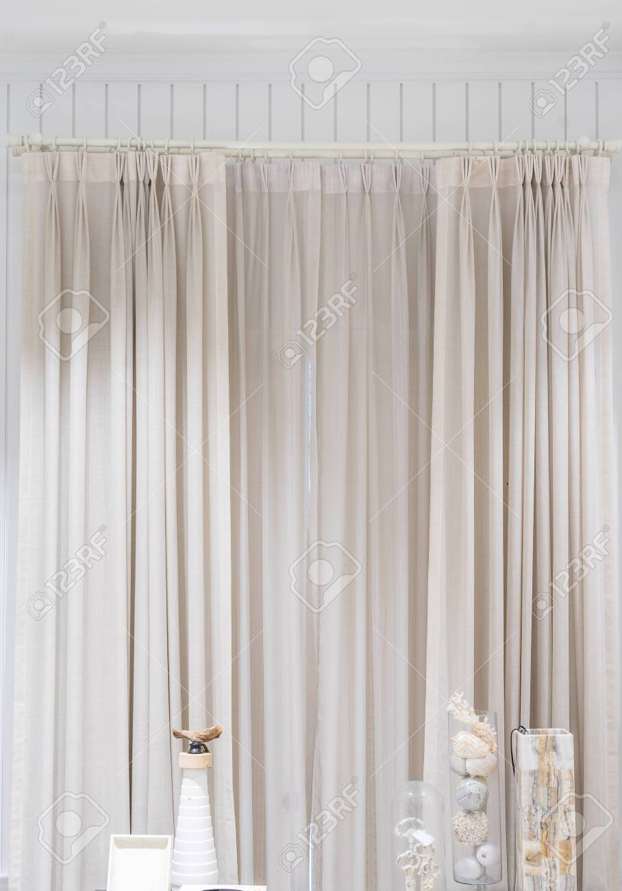 Beautiful Curtains With Ring Top Rail Curtain Interior Decoration