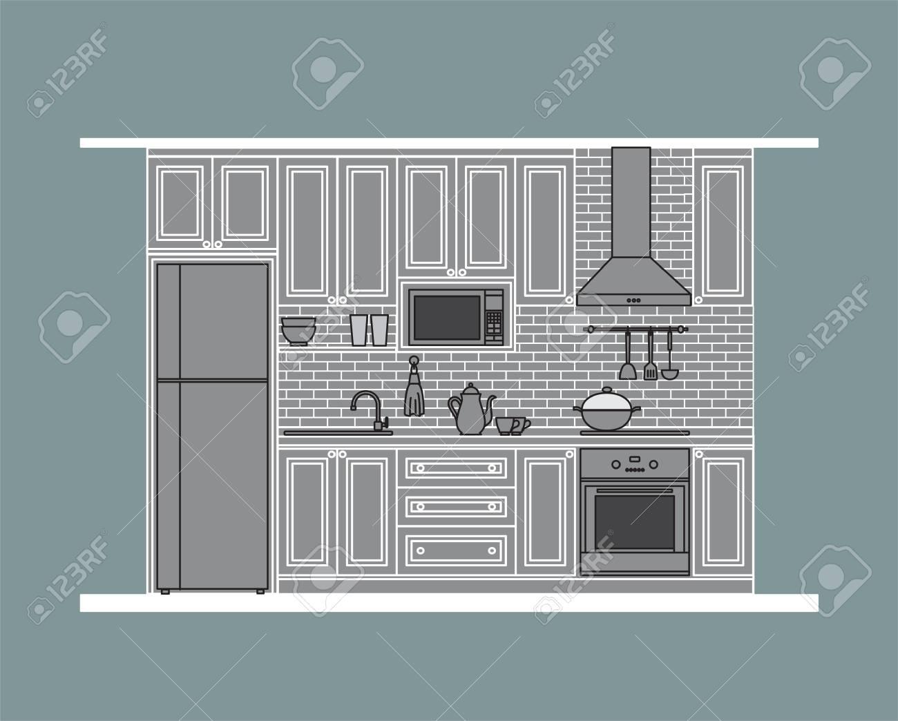 Ausgezeichnet Küchendesign Google Sketchup Fotos - Küchenschrank ...