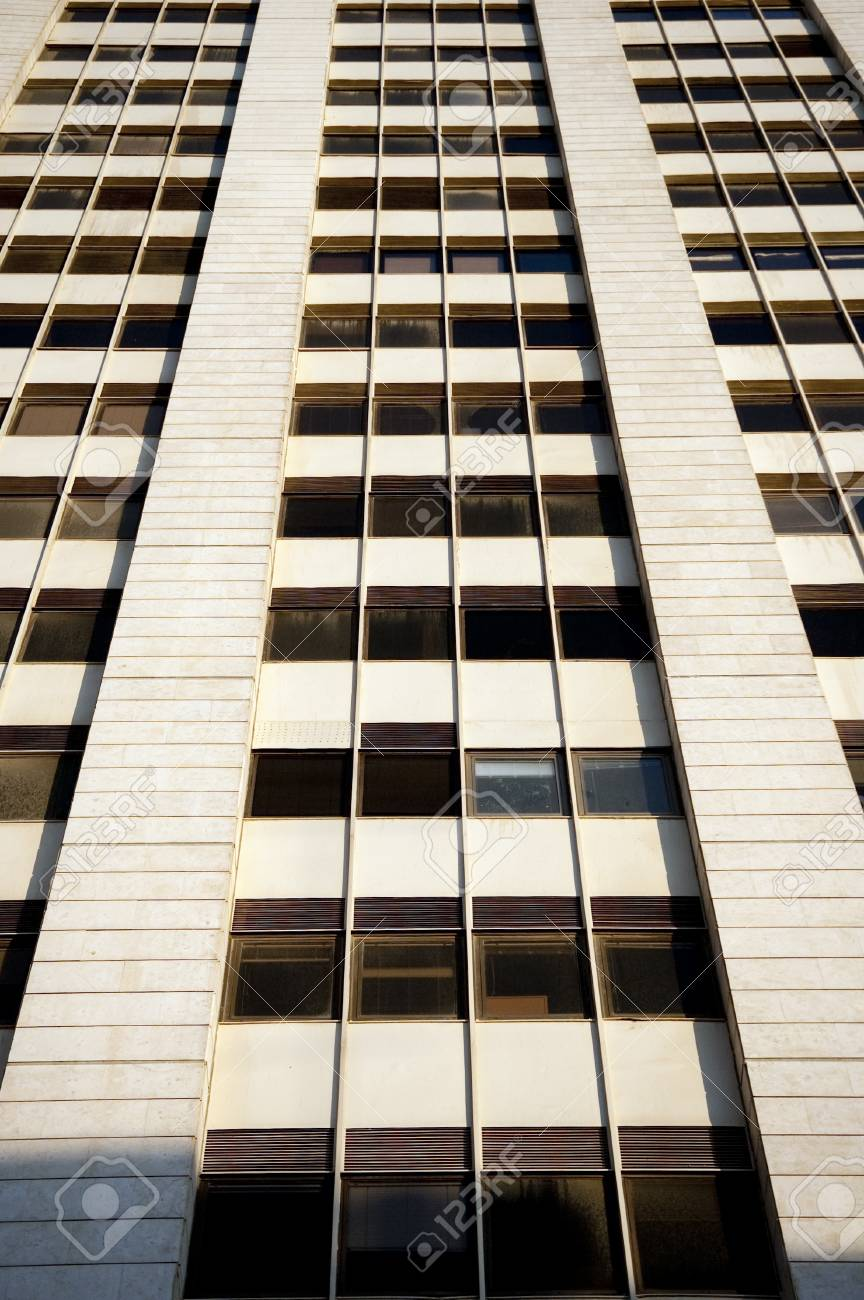 fragment with windows of the office building facade Stock Photo - 13332775