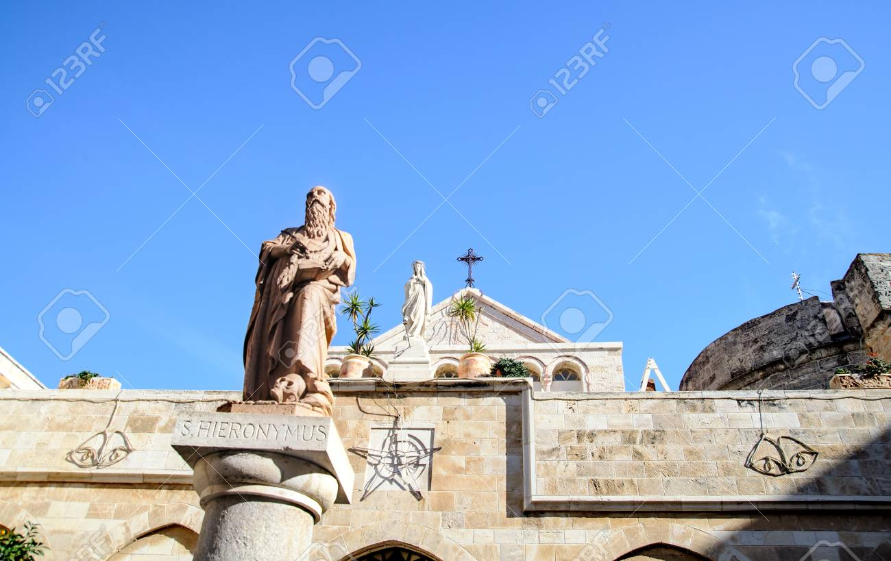 The Church of St. Catherine, Bethlehem, Palestine Stock Photo - 18298877