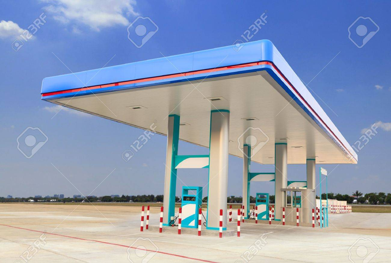 Gas Station Stock Photo - 18921762