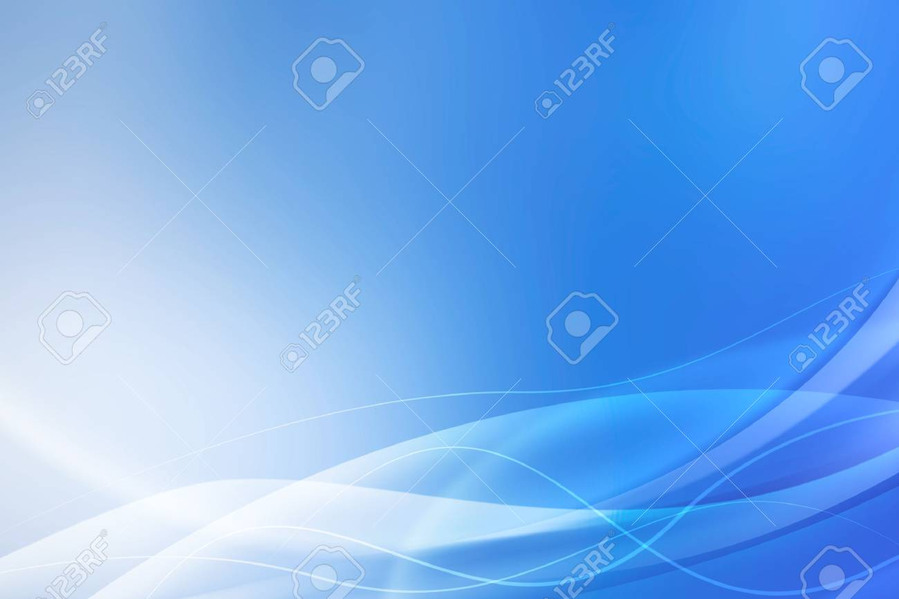 abstract blue waves background - 62706009