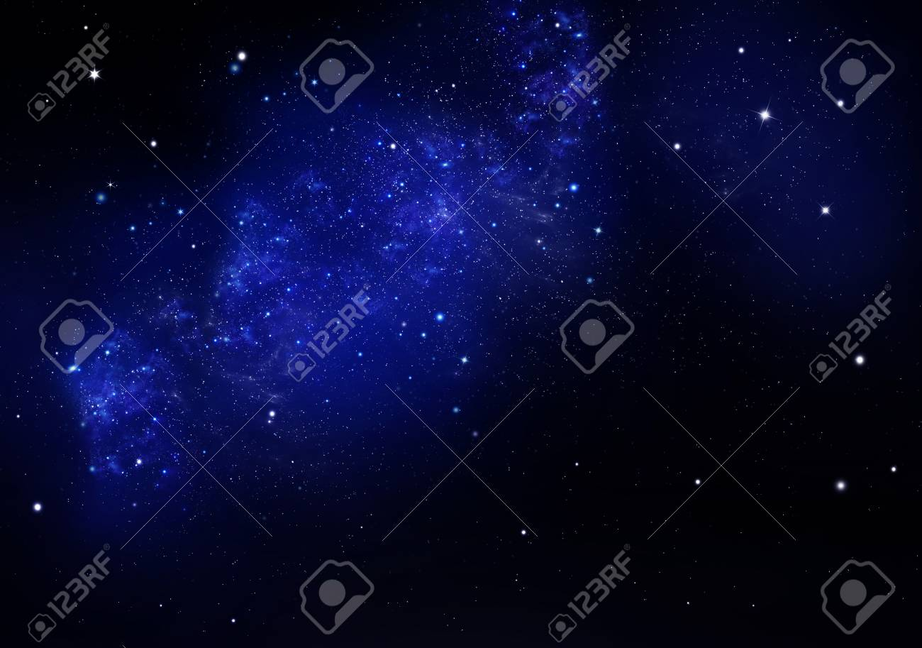 starry night sky deep outer space - 112324982