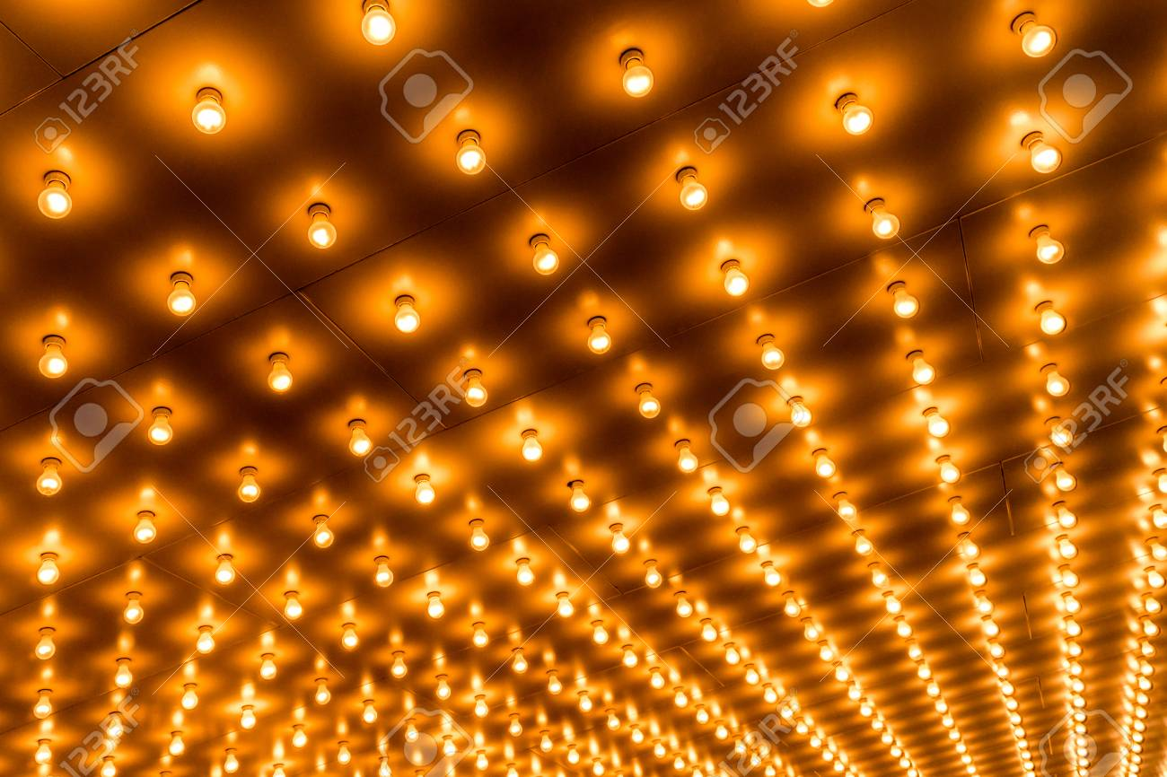 marquee lighting. Picture Of Theater Marquee Lights With Rows Lightbulbs On A Theatre Entrance. Also Commonly Lighting