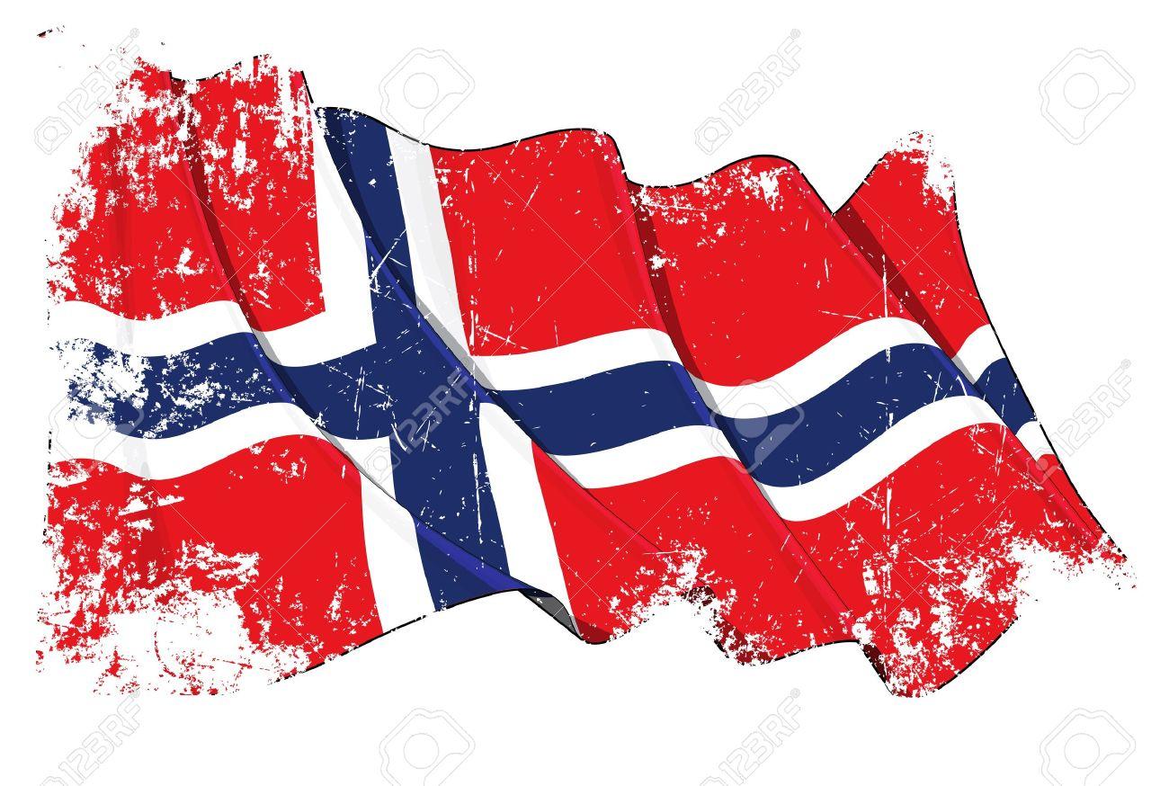 Norwegen Fahne Wallpaper kostenlos