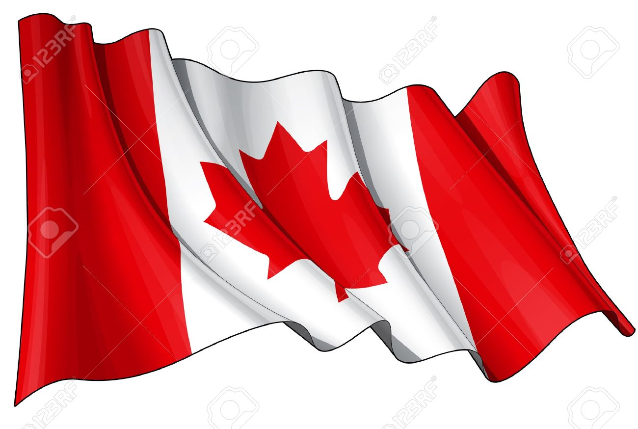 waving canadian flag eps v 10 file and a 6800 x 4500 pxl with