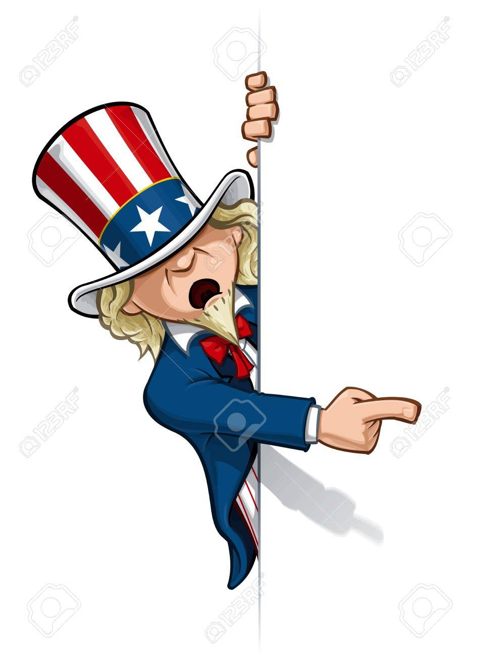 2 715 uncle sam stock illustrations cliparts and royalty free uncle rh 123rf com Free Grandparents Day Clip Art uncle sam clip art free images