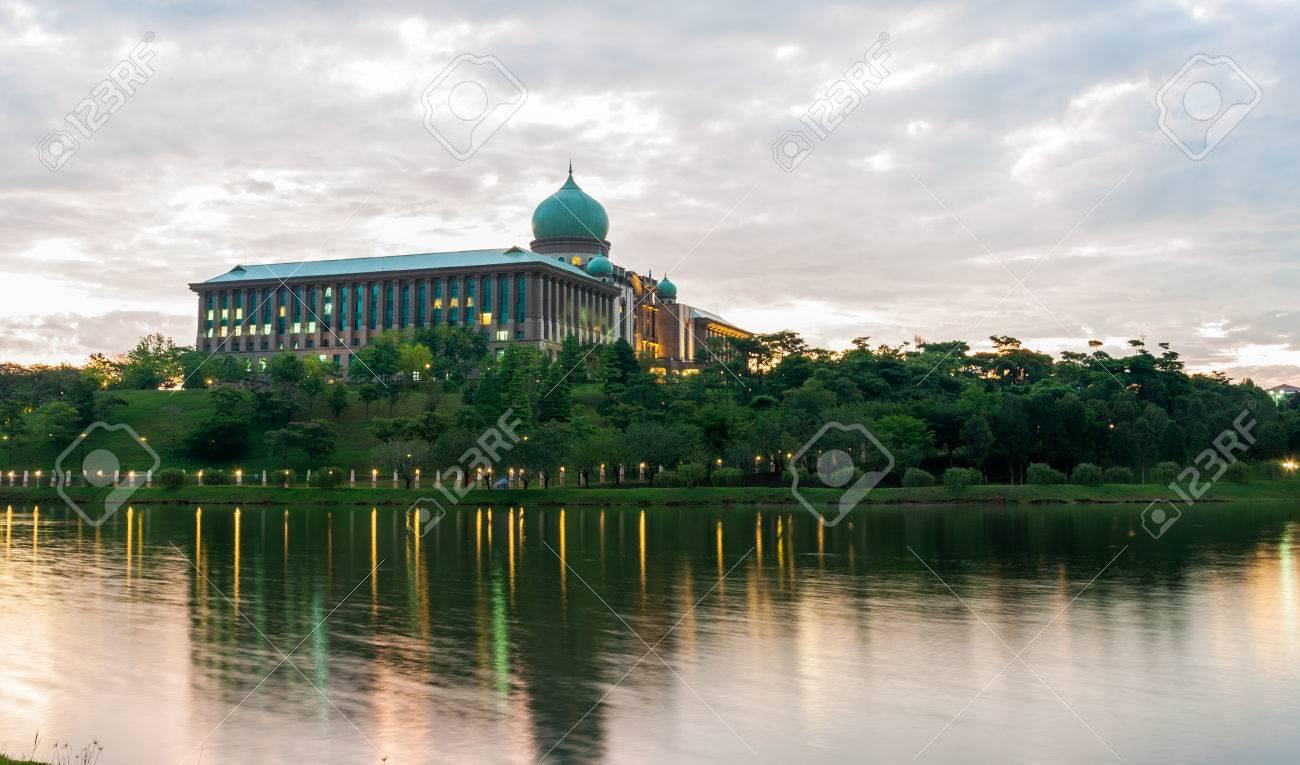 Cabinet Du Premier Ministre, Putrajaya, En Malaisie Dans La Matinée on