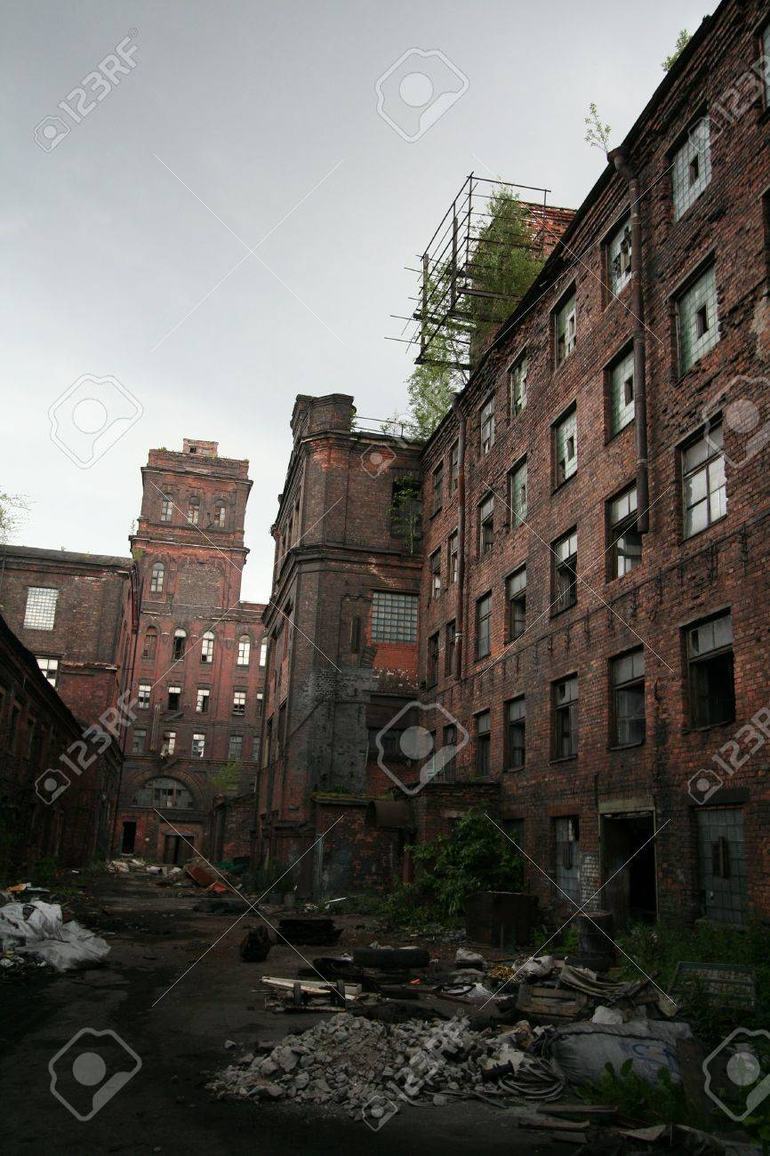 old factory Stock Photo - 2537112