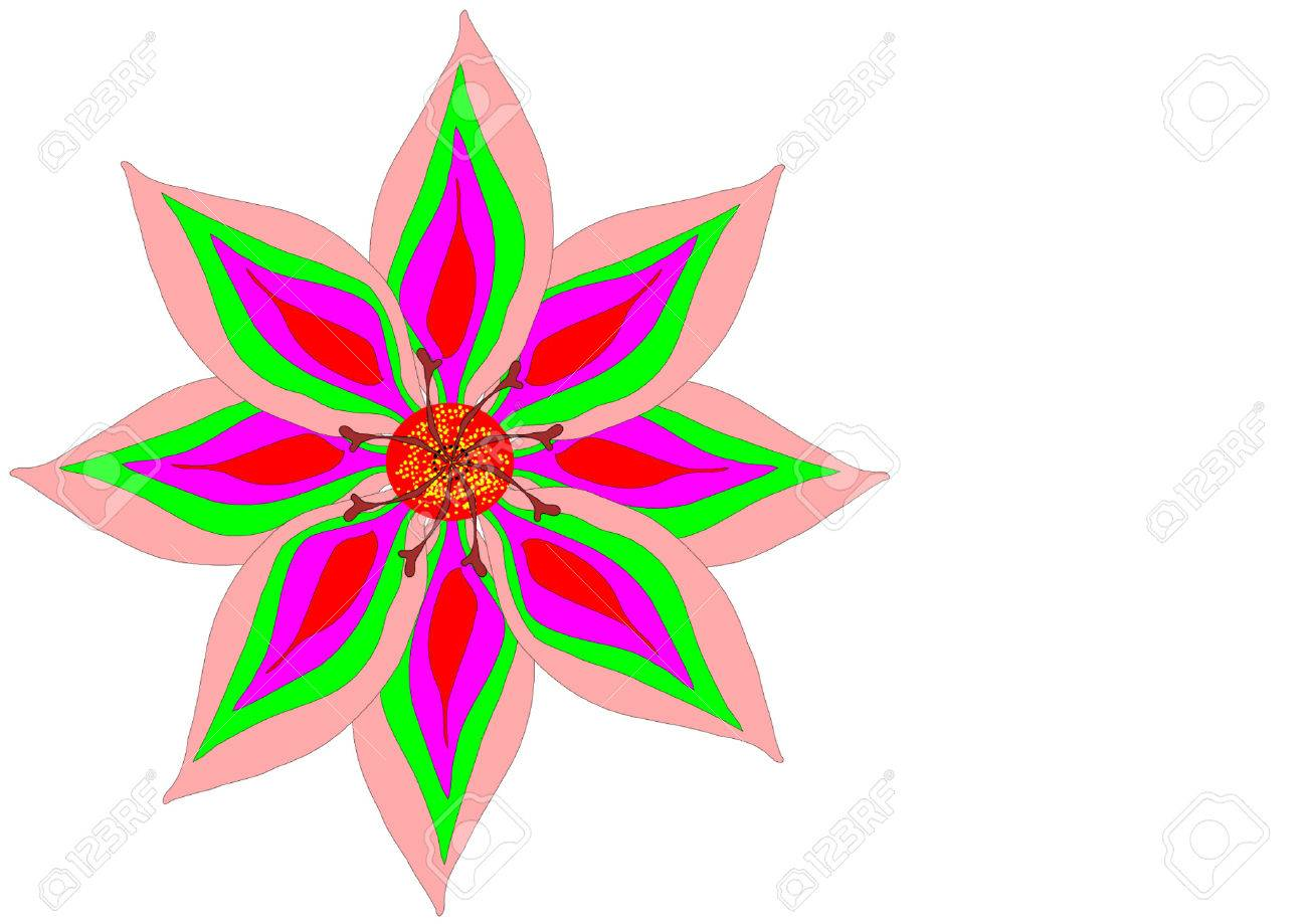 flower Stock Vector - 1103676