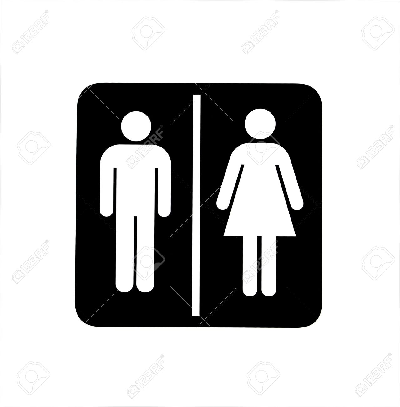 Man woman bathroom symbol my web value sign indicating women and men toilets stock photo 9811424 sign indicating women and men toilets biocorpaavc Choice Image