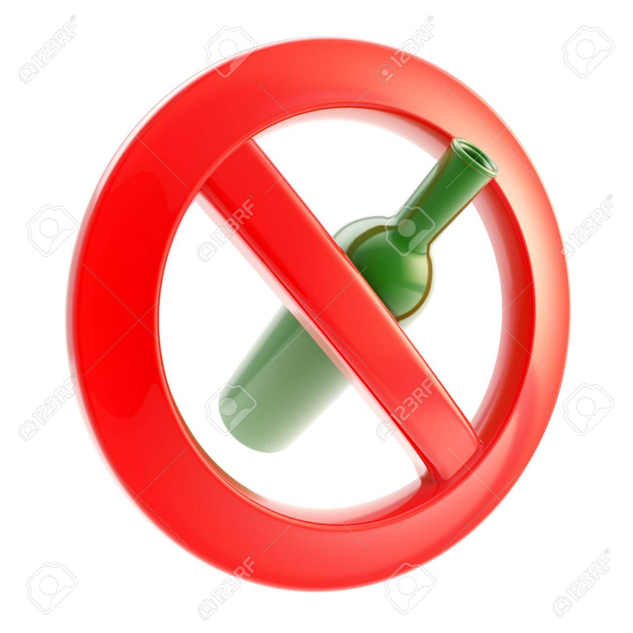 Drinking is not allowed forbidden sign Stock Photo - 13243451