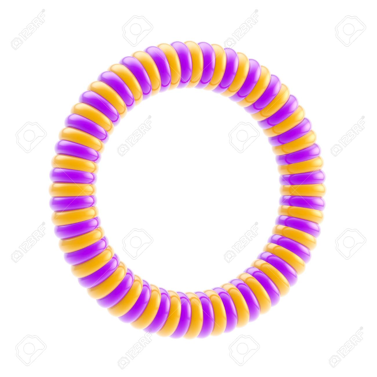 Round circular copyspace frame isolated Stock Photo - 13279074