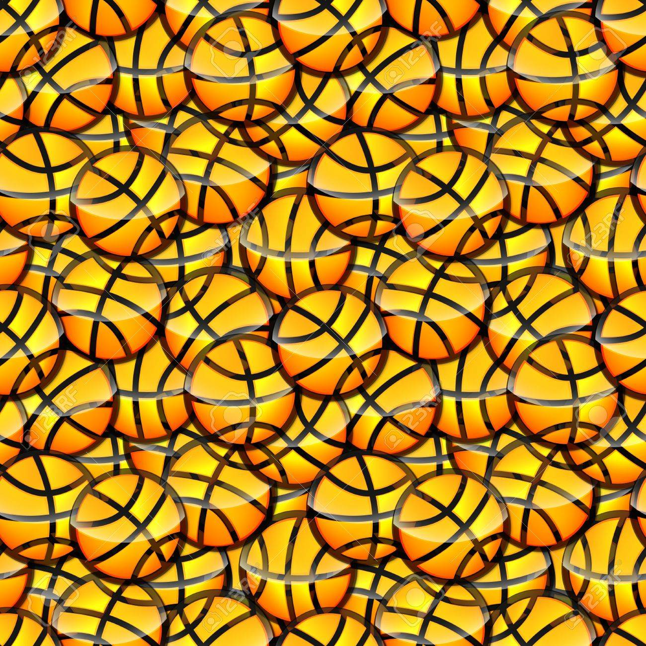 Glossy Texture Seamless Seamless Basketball Glossy