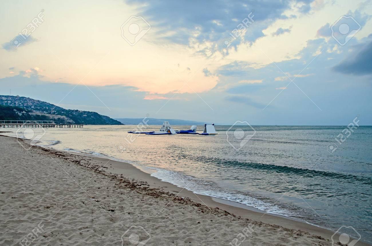 Stock Photo The Black Sea shore