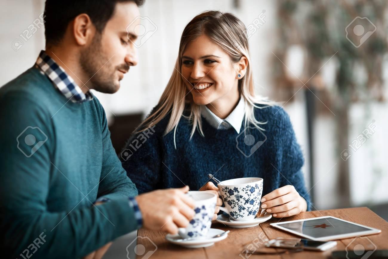 coffee shop date