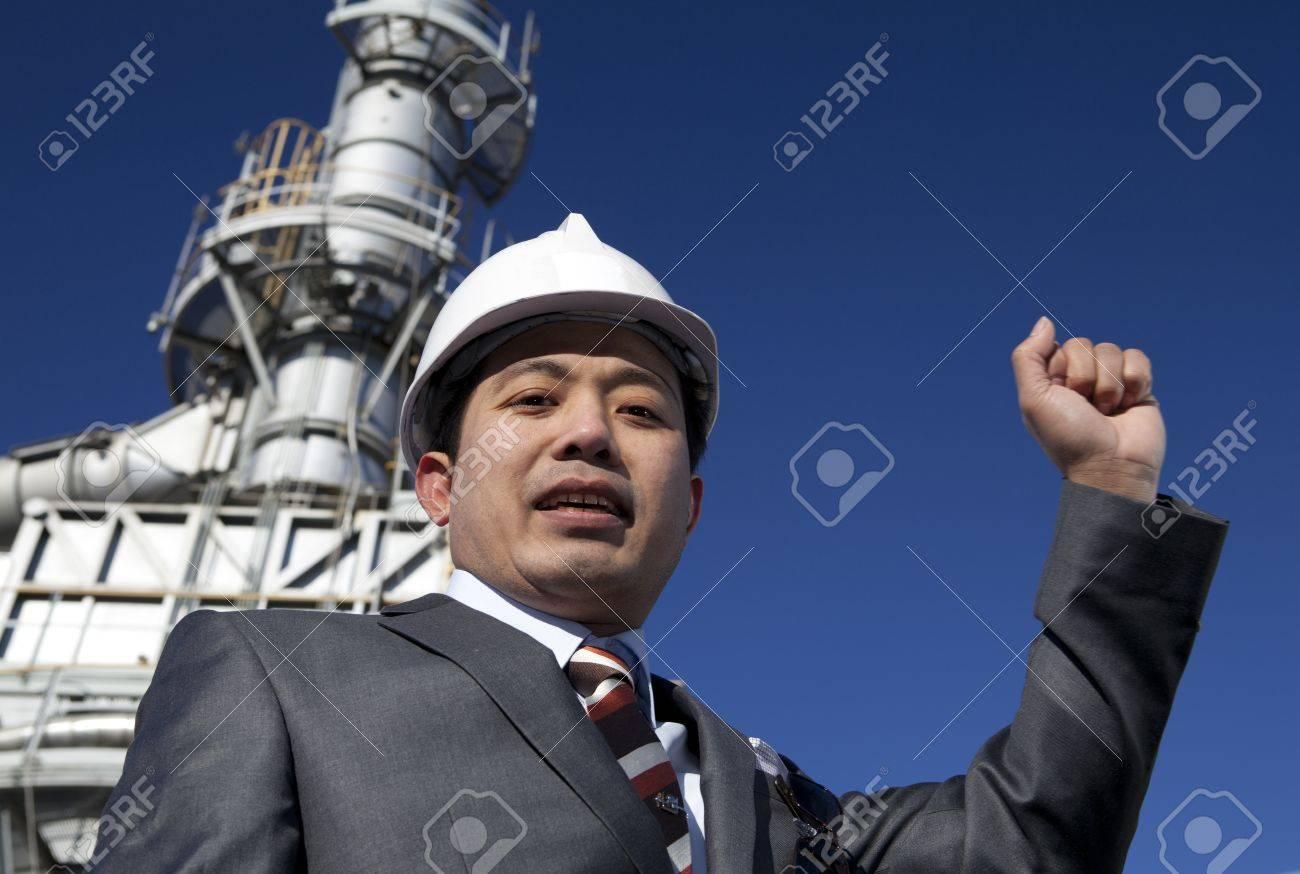 engineer of oil refinery Stock Photo - 15290530