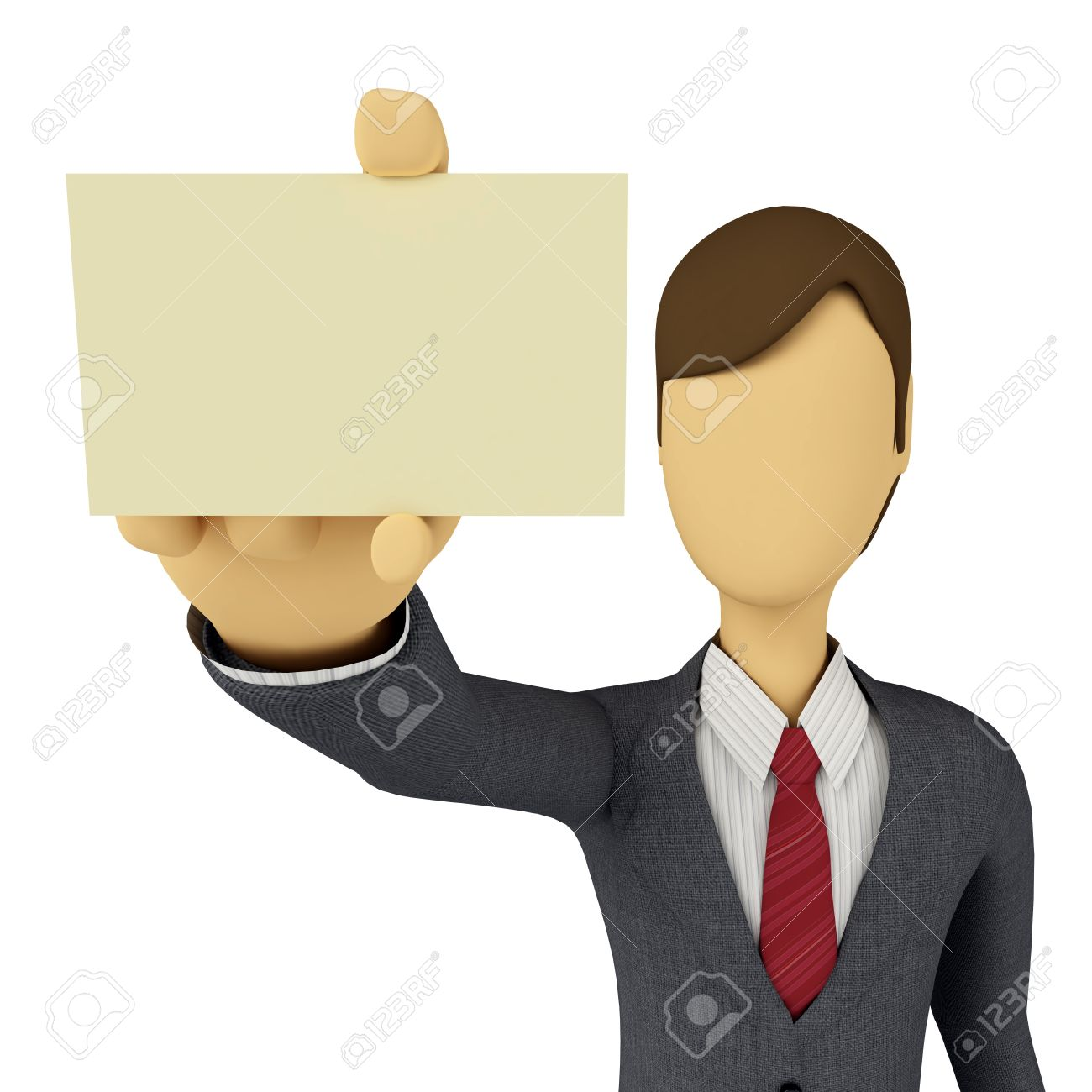 3d businessman showing a blank business card template stock photo 3d businessman showing a blank business card template stock photo 9706602 flashek Choice Image