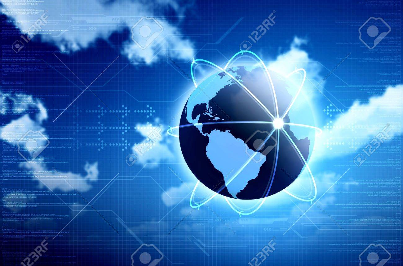 Conceptual image for information technology, cloud computing or internet. Great for backgrounds or main image in your design Stock Photo - 12369557