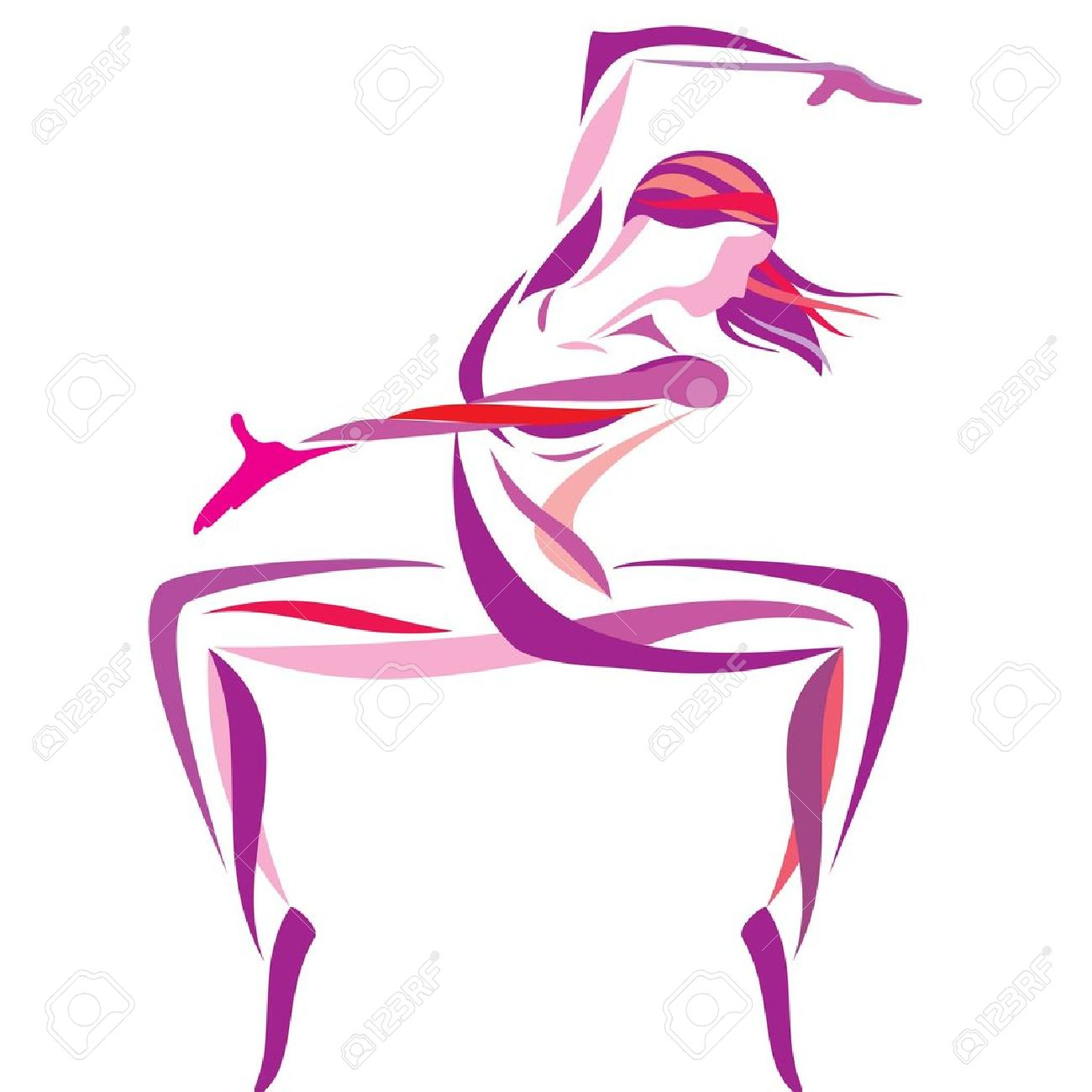 dancing girl - 10505043